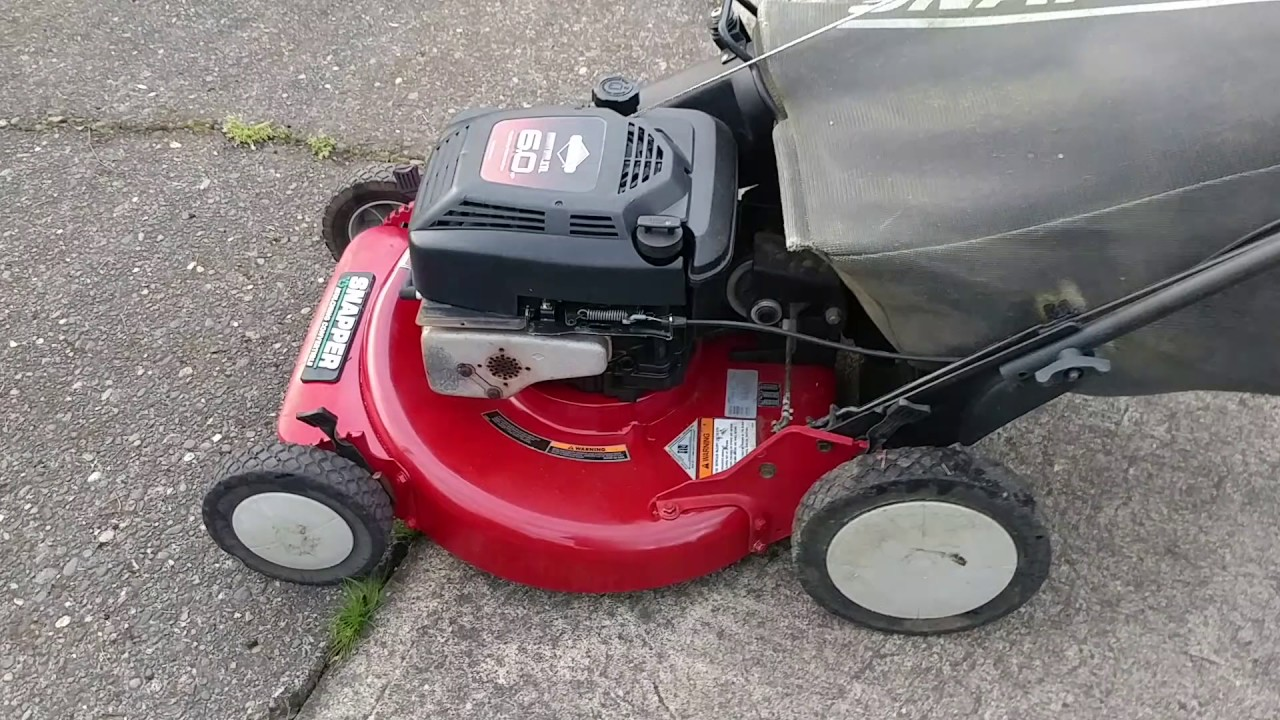 craftsman eager 1 6.75 hp lawn mower manual