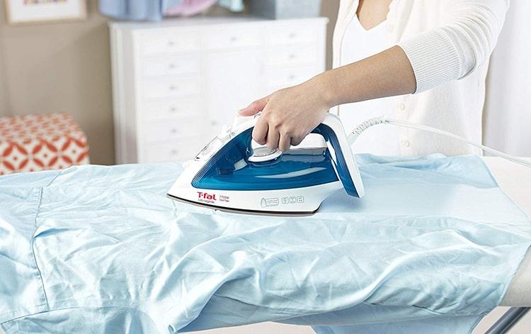 rowenta iron manual self cleaning