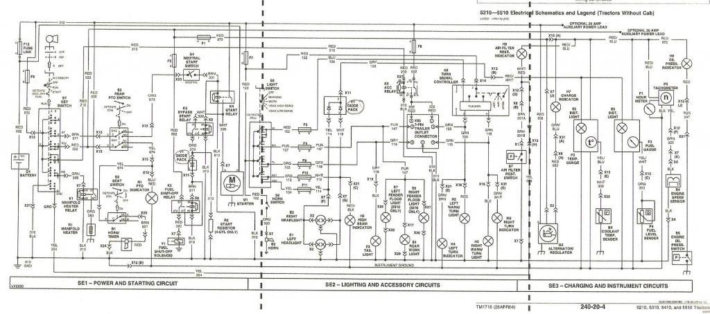 john deere 4310 parts manual