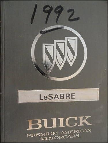 2001 buick lesabre repair manual pdf