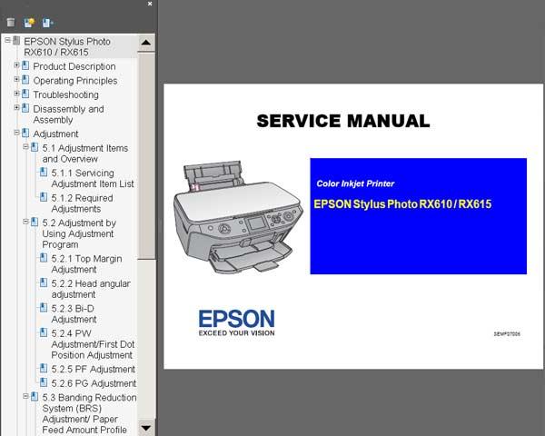 epson stylus photo rx500 manual