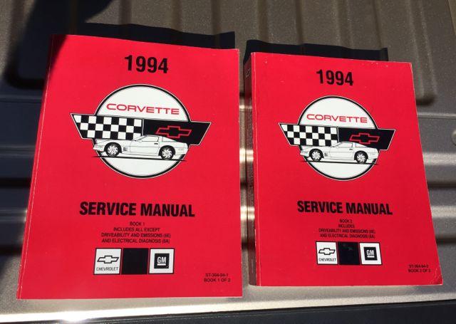 1994 corvette service manual pdf