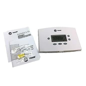 trane non programmable thermostat manual