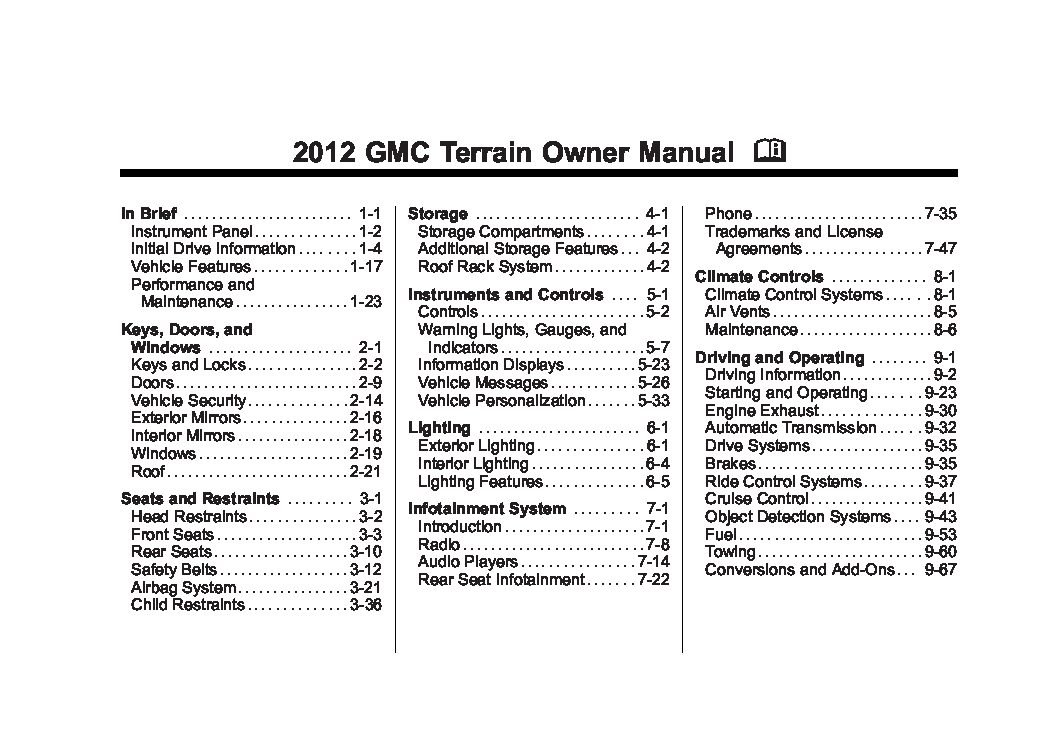 2002 gmc envoy slt owners manual