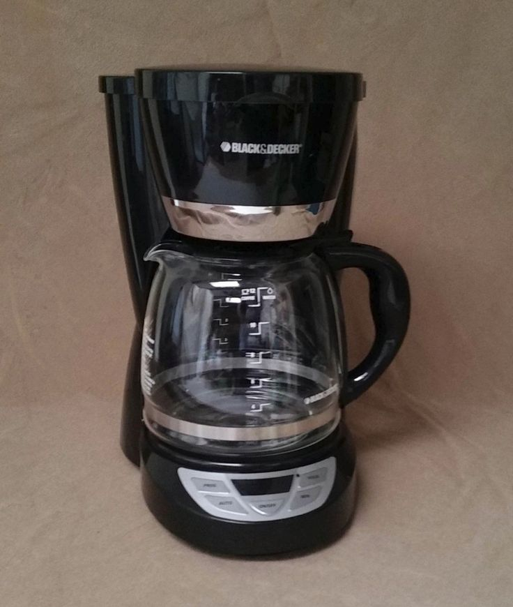 black and decker coffee maker manual cm1050b
