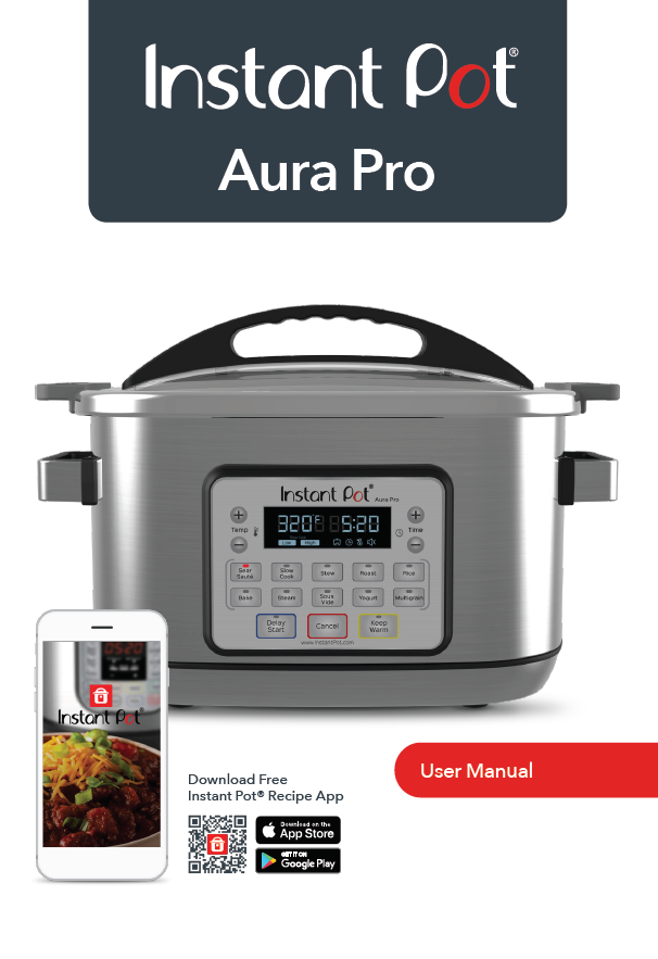 bravetti professional slow cooker manual