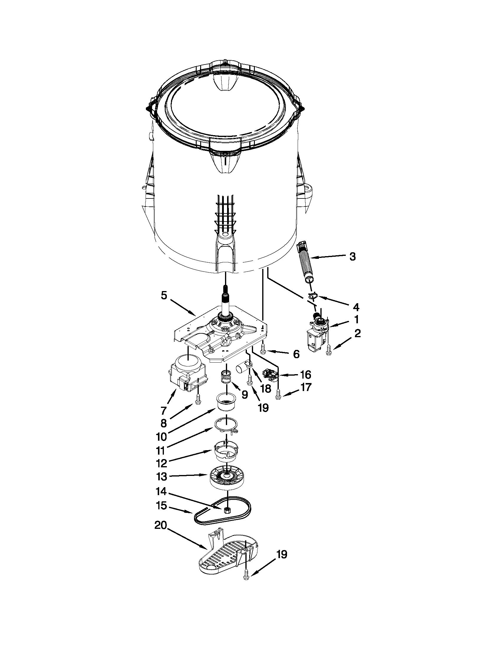 admiral washing machine repair manual