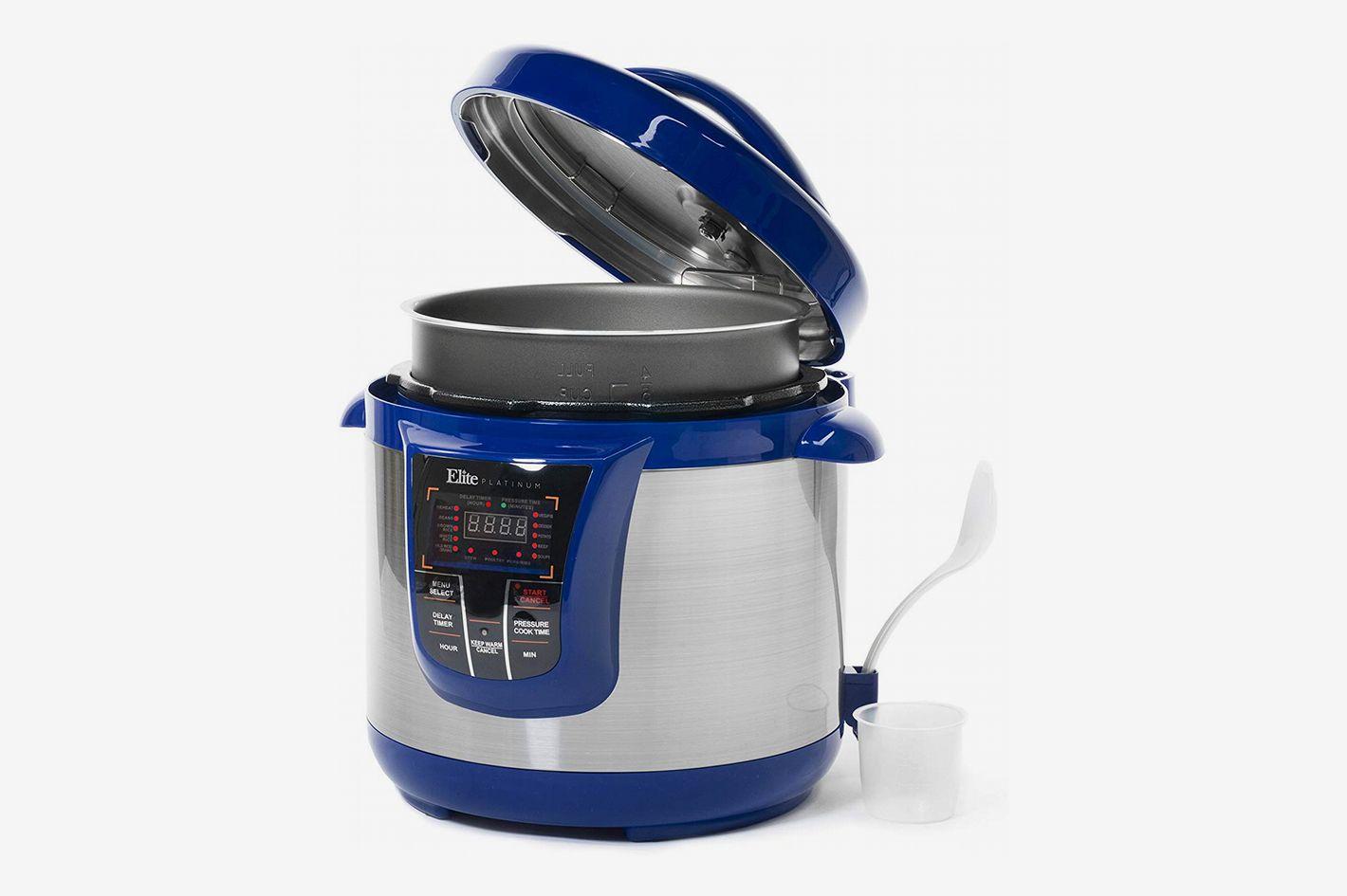elite electric pressure cooker manual