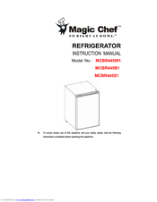 magic chef dishwasher user manual