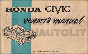 honda civic owners manual pdf