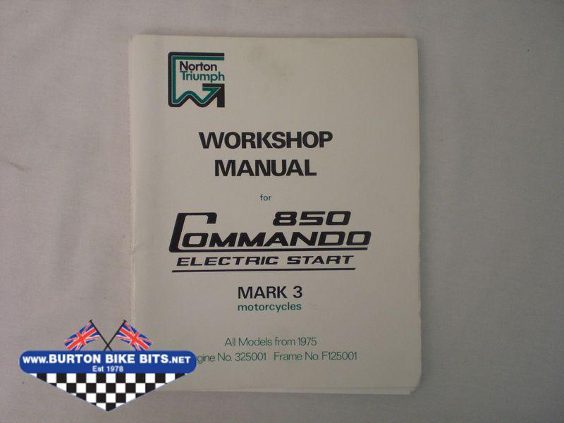 norton model 50 workshop manual