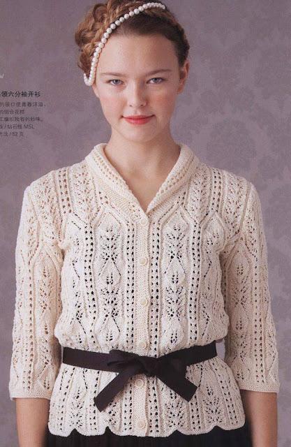 pulovere tricotate manual de iarna