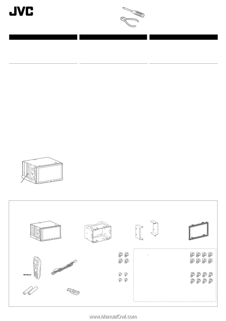 jvc kw r710 installation manual