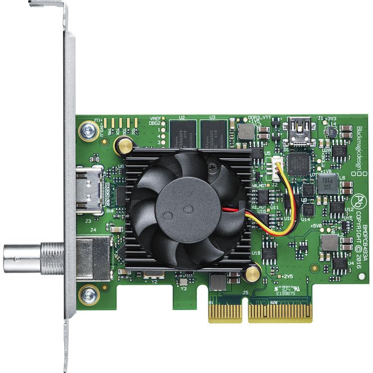 blackmagic decklink mini recorder manual
