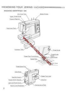 kenmore 6 stitch sewing machine manual