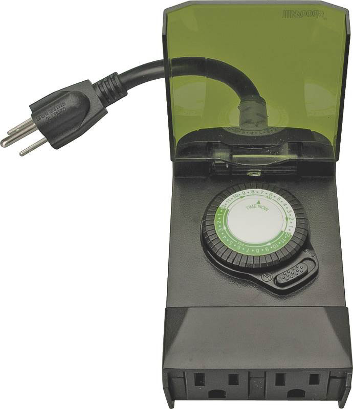 woods 50011 outdoor timer manual