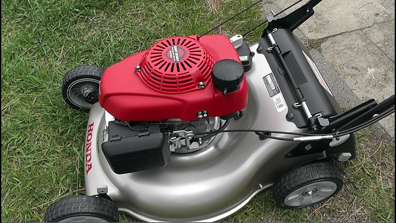 honda self propelled lawn mower manual