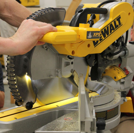 dewalt 708 miter saw manual