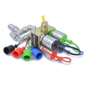 4 way 2 position manual hydraulic valve