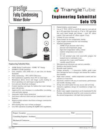 triangle tube smart 80 manual