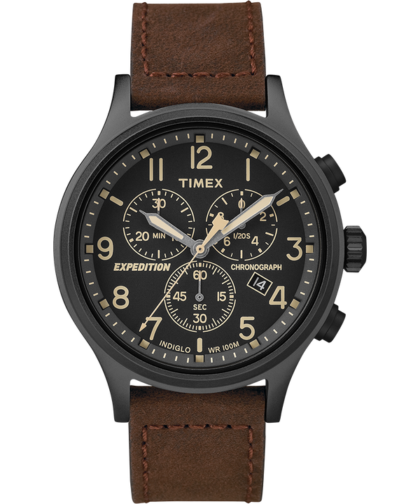 timex expedition field chronograph manual