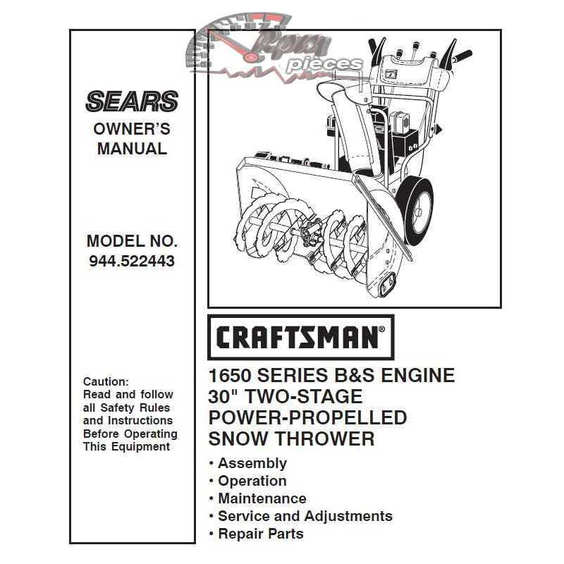 craftsman lawn mower manual canada
