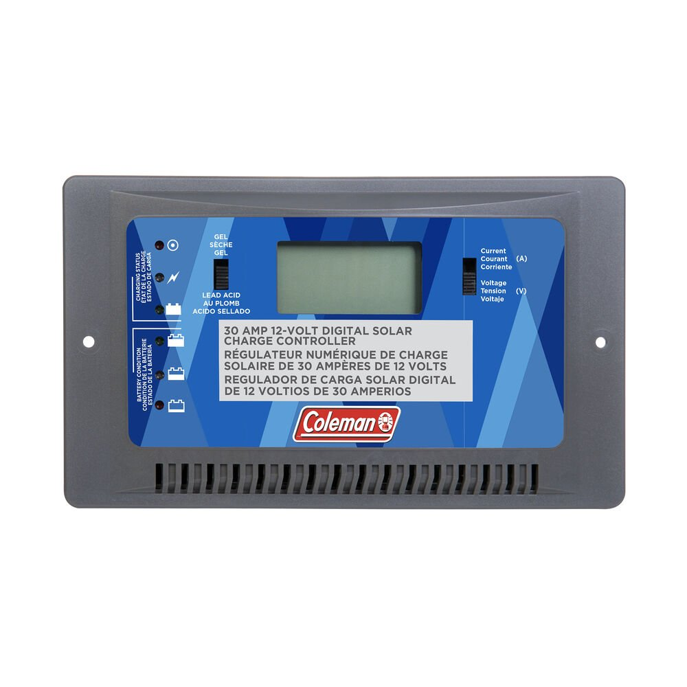 coleman 30 amp charge controller manual