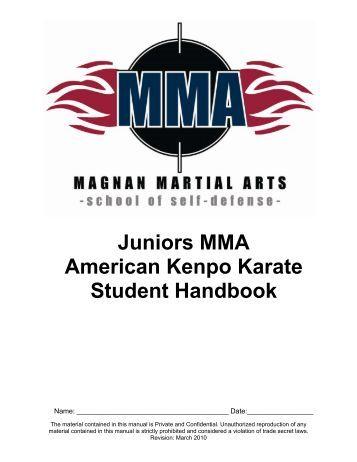 american kenpo karate manual pdf