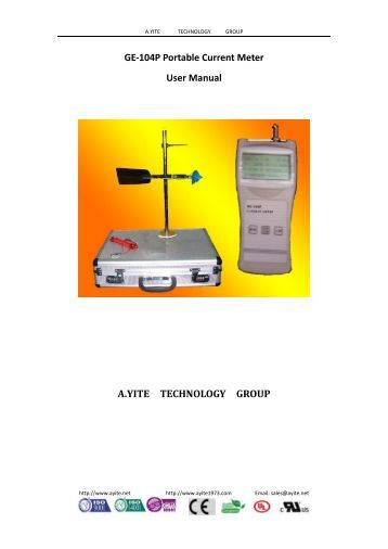 aqualab water activity meter manual