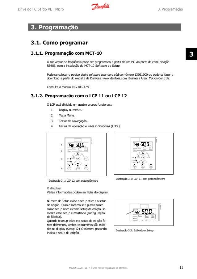 danfoss vlt 2800 programming manual