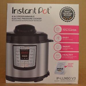 instant pot ip lux60 v3 manual