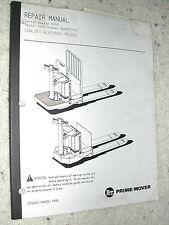 crown pallet jack repair manual