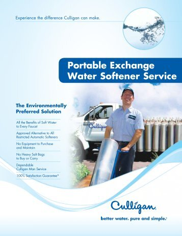 culligan medallist series service manual
