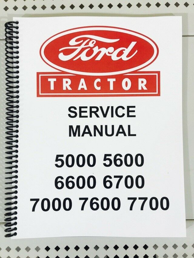 ford 6600 tractor manual download