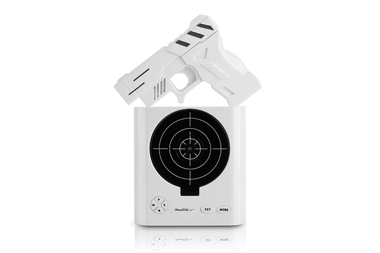 gun alarm clock user manual