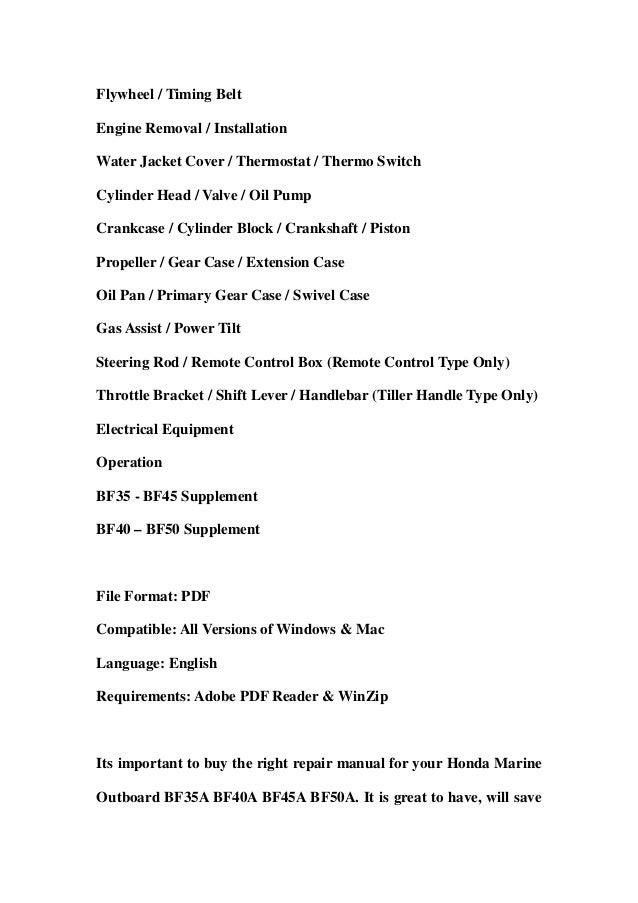 honda frv workshop repair and service manual