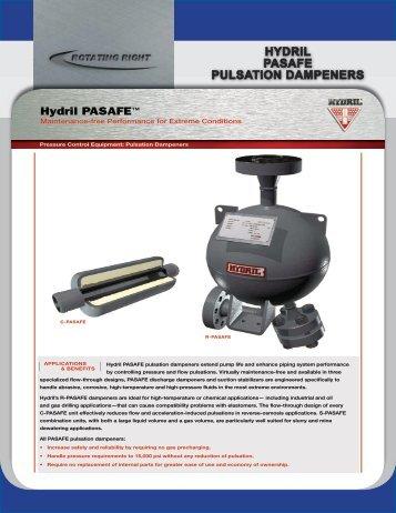 hydril ip pulsation dampener manual