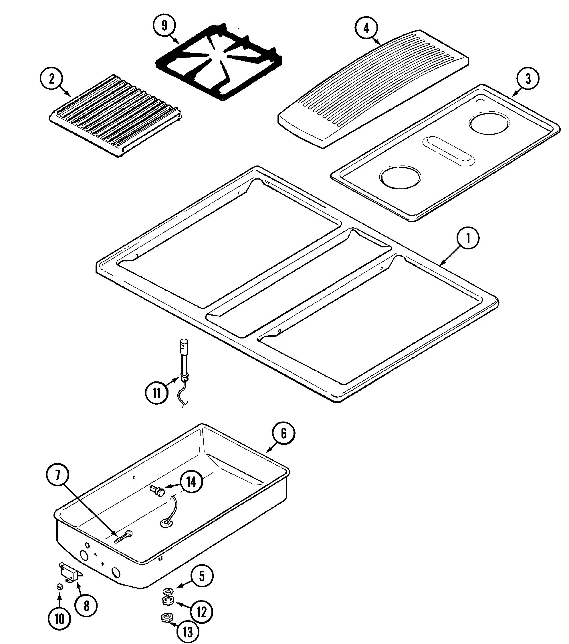 jenn air cooktop repair manual