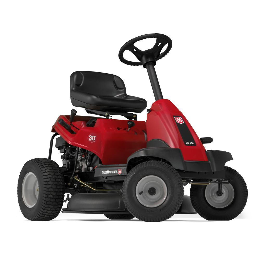 manual push lawn mower home depot