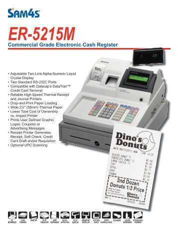 sam4s er 290 cash register manual