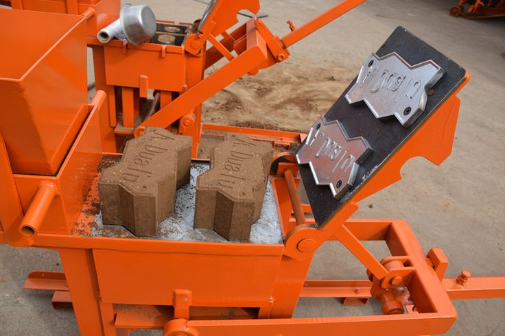 small manual clay brick making machine