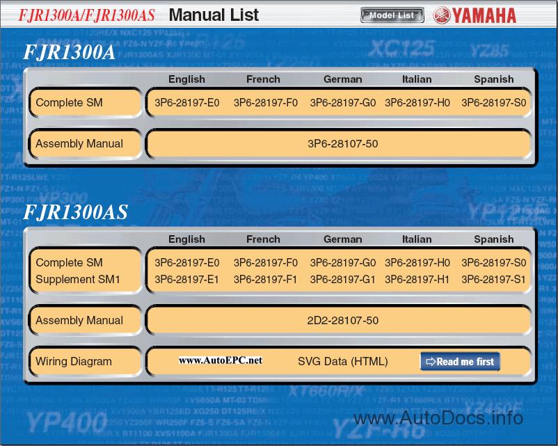 yamaha ca 1010 service manual